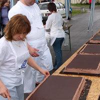 A legnagyobb magyar csokitorta
