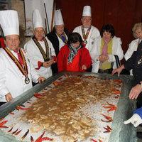 A legnagyobb tányér kocsonya másfél négyzetméter!
