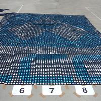 Óriás mozaikkép a környezetvédelemért