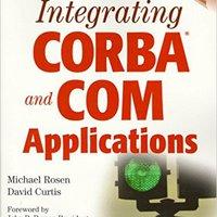 Integrating CORBA? And COM Applications Download Pdf