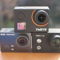 Thieye T5 Edge akciókamera és ellenfelei – 4K a köbön