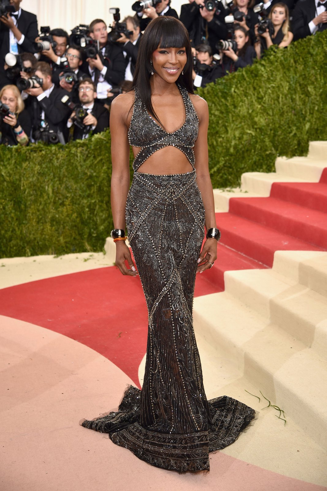 Naomi Campbell<br />Cavalli Couture