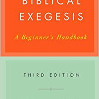 ??VERIFIED?? Biblical Exegesis, 3rd Ed. agency accion Labor deberan Bases trends datasets