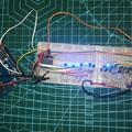 16 led egyedi vezérlése 3 digitális lábbal