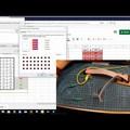 Kapcsolómátrix, arduino kód, elektronika tesztelése