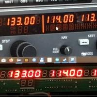 Radio/Nav panel működési anomáliák