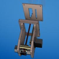 Flaps vezérlő 3D tervezése