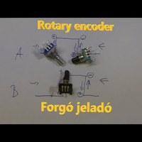 Rotary Encoder - Forgó jeladó