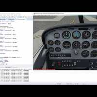 C172 Annunciator FSUIPC Java SDK