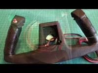 Cessna szarvkormány készítése szimulátorhoz