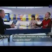 A miniszterelnöki beszédről az ATV műsorában
