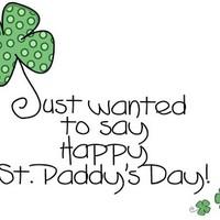 St. Patrick nap! - Happy St. Patrick's Day