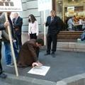 Magyar tulajdonokért tüntettek Kolozsváron