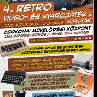 4. Retro videó- és kvarcjáték kiállítás a