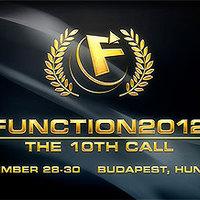 Function 2012 demoscene rendezvény