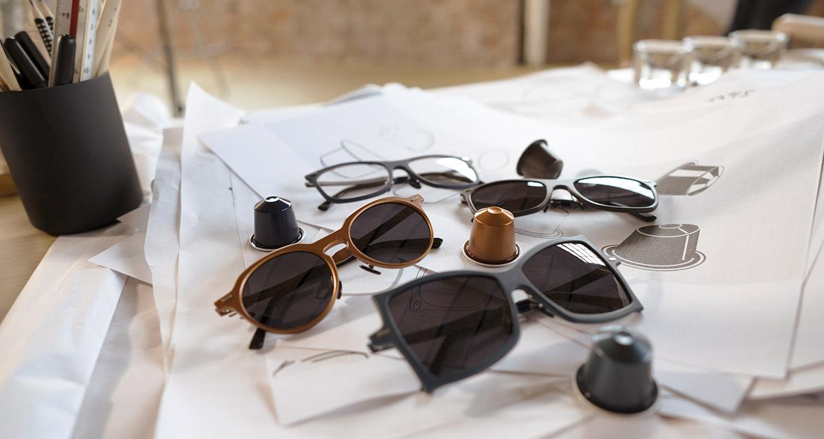 Ilyen menő szemüvegkereteket még nem láttál: kávékapszulából készültek