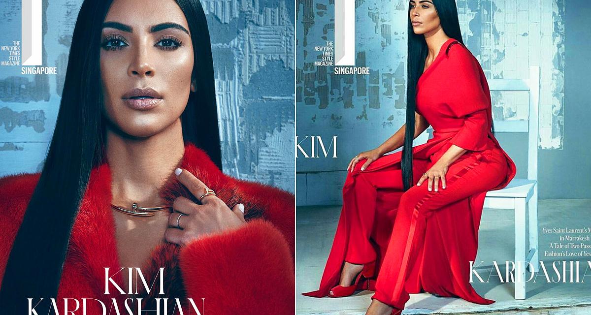 Mint egy próbababa: Kim Kardashian nem sok életet vitt a divatfotókba