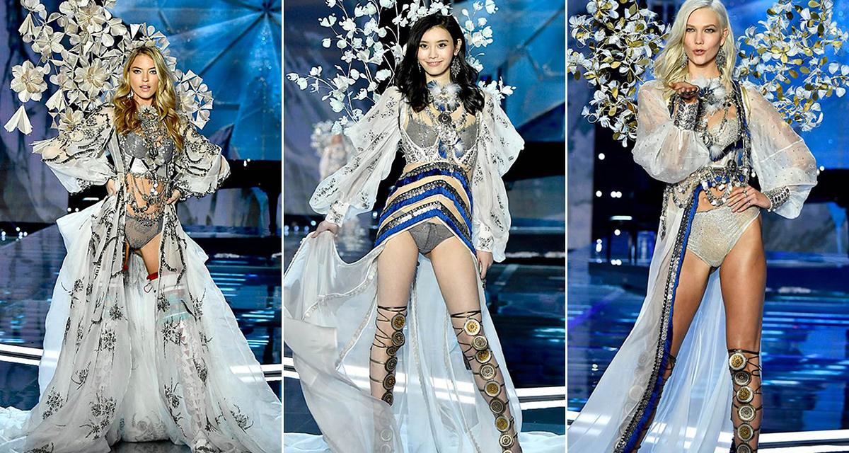 Álomszép fehérneműk a Victoria's Secret bemutatójáról: ismét színpompás a repertoár