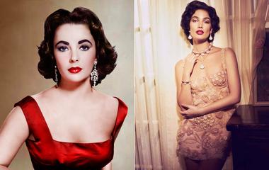 Elizabeth Taylor bőrébe bújt a modell: Lily Aldridge még sosem volt ennyire bombázó