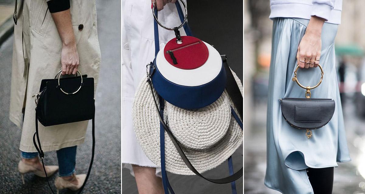 Mindenre rákerül idén ez a díszítés: táskákon, öveken, ruhákon is ott a fémkarika