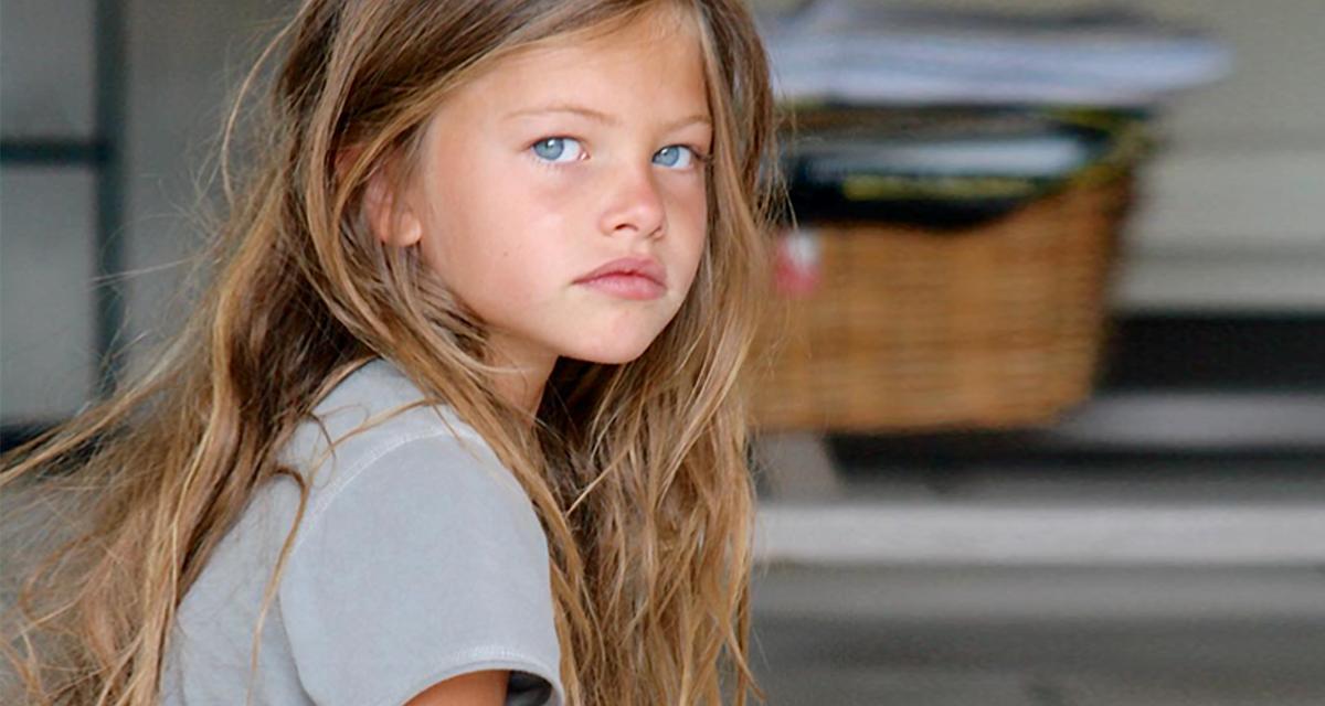 Gyönyörű modell lett a világ legszebb kislányából: már 17 éves