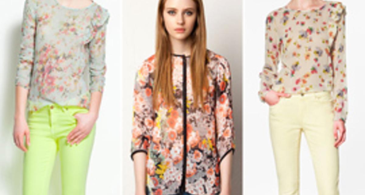 Gyönyörű, nőies blúzok a tavasz divatszíneiben