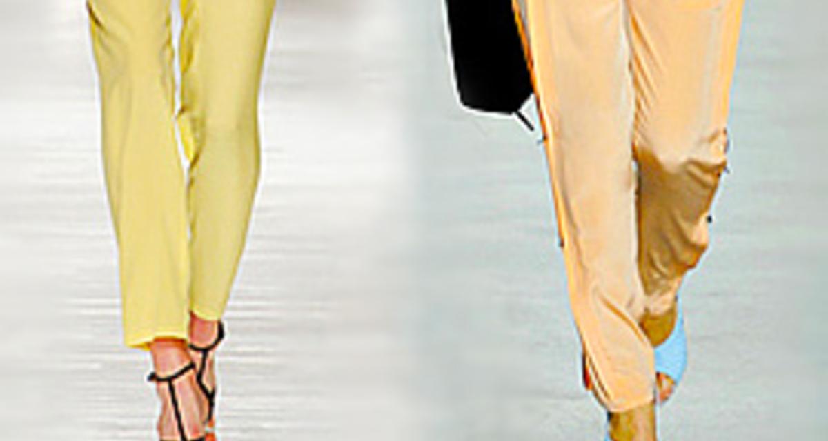 Szexi nadrágfazonok, ha nagy a popsid - Így viselik a kifutókon