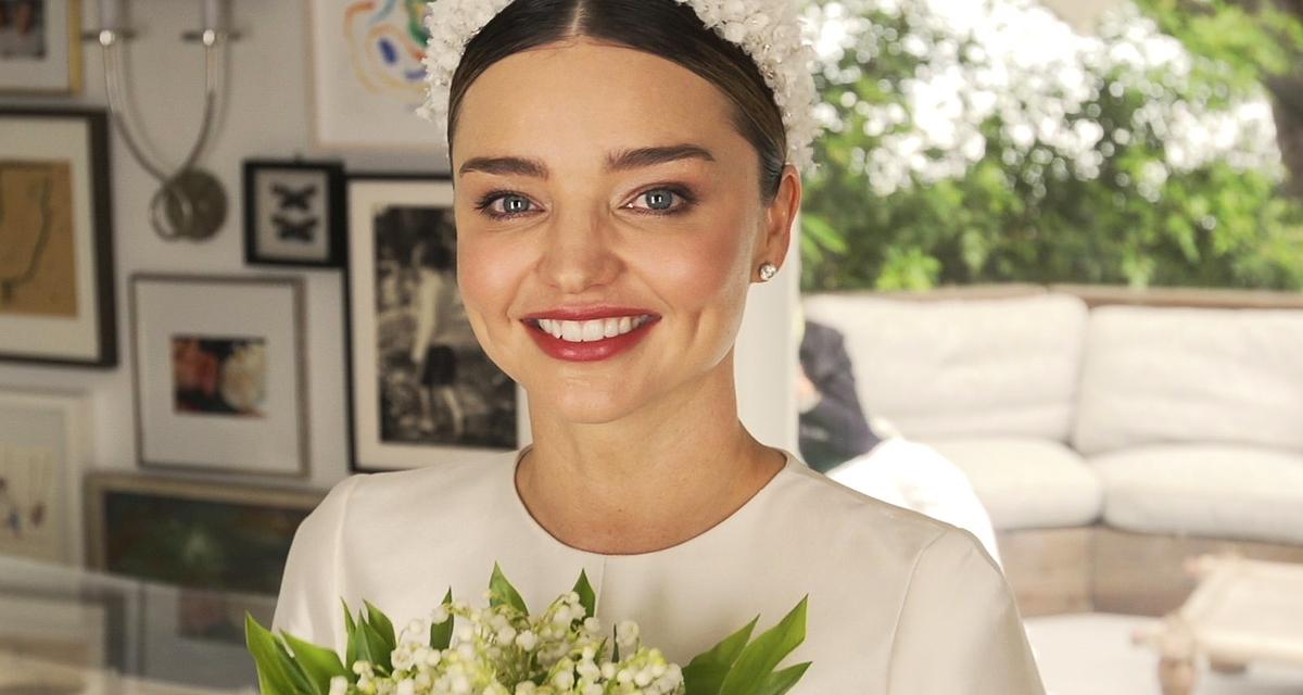 Gyönyörű natúr smink az esküvőre, Miranda Kerr ajánlásával