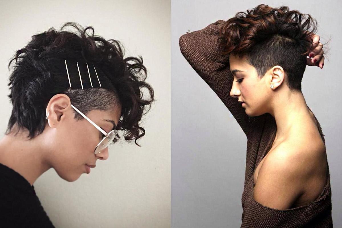 Az aszimmetrikus frizurák sokféle formázásra adnak lehetőséget.
