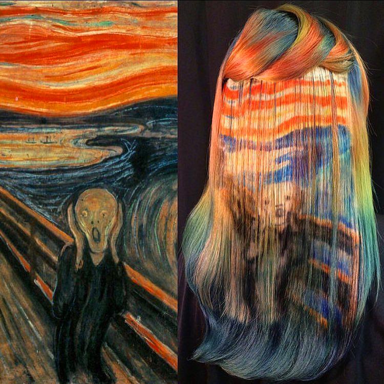 Nincs lehetetlen, még Edvard Munch Sikoly című alkotása is felkerülhet a tincsekre.