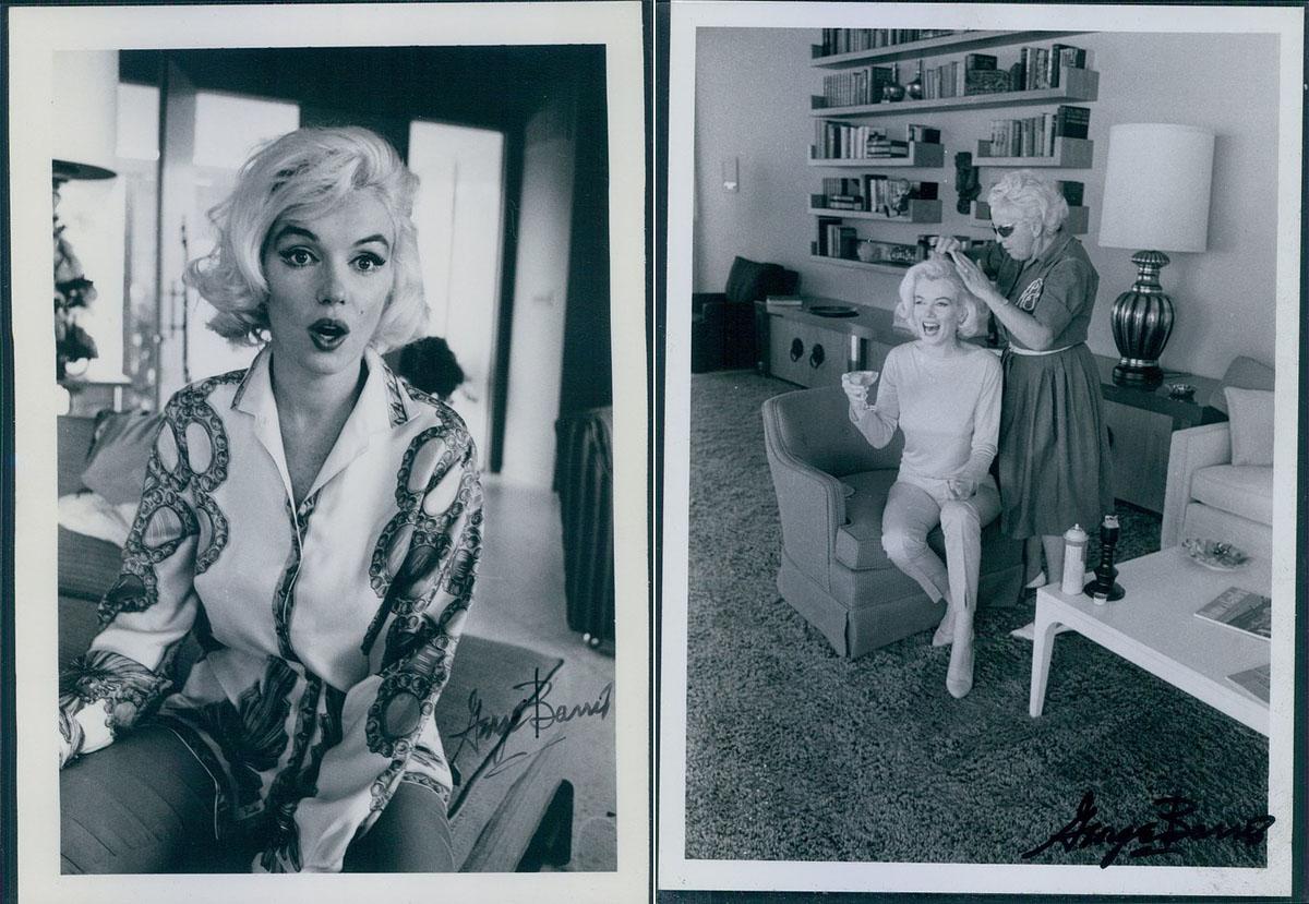 Manapság hasonló képeket tesznek fel magukról az influencerek az Instára. A modellek gyakran szeretnek a kamerába grimaszolni, és szívesen engednek bepillantást a kulisszák mögé. Marilyn ezt még nem divatból tette, ezek a képek a pillanat hevében készültek.<br />Fotók: George Barris.