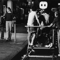Ritka forgatási fotó - Manhattan - 1979