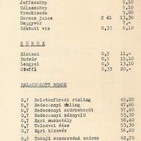 Balatonfüred, Kedves cukrászda 1973