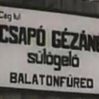 Csapó Gézáné  - Sütögető