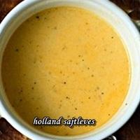 Holland fűszeres sajtleves