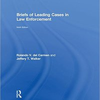 Briefs Of Leading Cases In Law Enforcement Download