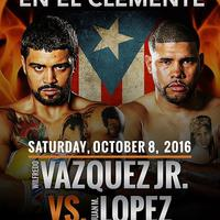 Juan Manuel Lopez vs Wilfredo Vazquez Jr: A hétvége (bárcsak nem létező) mérkőzése