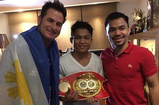 Nehézkesen könnyed rövid történet Jerwin Ancajas tisztaságáról és Manny Pacquiao önzetlenségéről