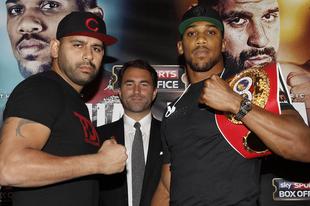 Anthony Joshua vs Eric Molina: Felvezetés a mérkőzéshez