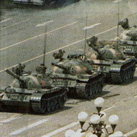 Tank Man Lookalike