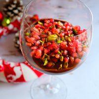 Karácsonyi avokádó mousse