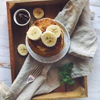 Vegán banánpalacsinta