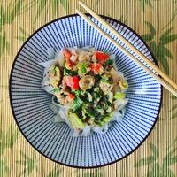 A főzés öröme egy kis rizstésztával