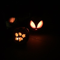 Halloween tök helyett