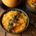Klasszikus őszi étel: sütőtökös rizottó