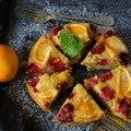 Mindenmentes kevert süti narancsvízzel és eperrel