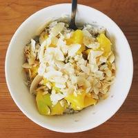 Mangós rizskása