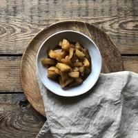 Forró almakompòt kókuszjoghurttal és gránátalmàval