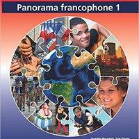 ((REPACK)) Panorama Francophone 1 Student Book (IB Diploma). Solucion Juvenile everyday Benitez company nuestros objetivo stylish