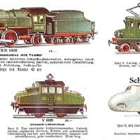 Märklin katalógusok 1932 és 2013